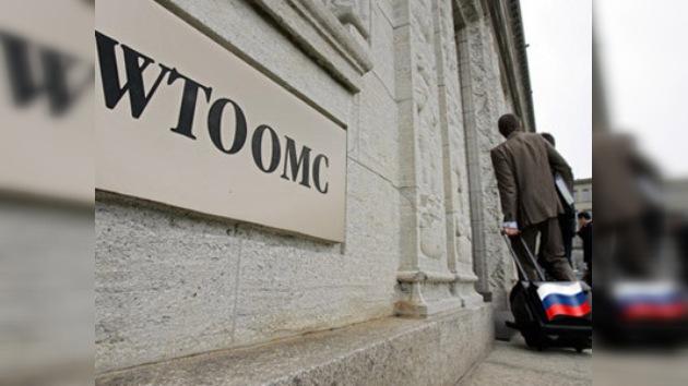 Rusia podría ingresar en la OMC  dentro de 12 meses