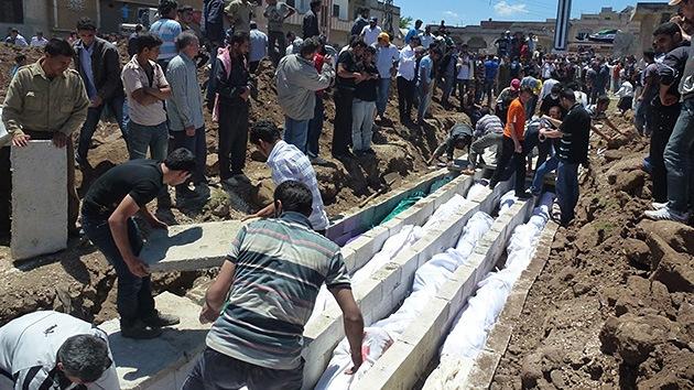 Siria: la ONU responsabiliza a los rebeldes y a las fuerzas del régimen por la masacre de Houla