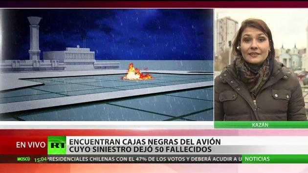 """Pasajera del avión siniestrado en Kazán: """"La nave iba hacia arriba y se movía también para abajo"""""""