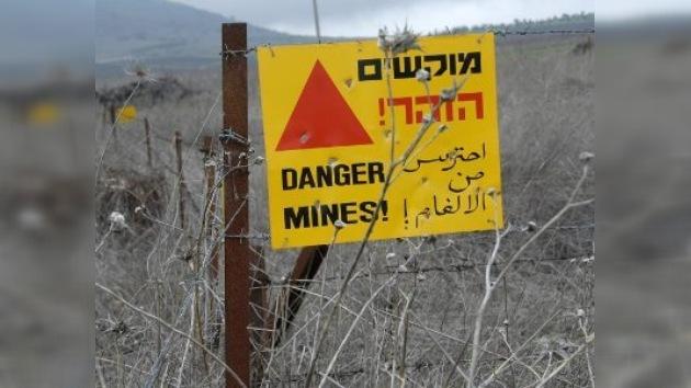 Dos niños heridos por mina terrestre en Israel