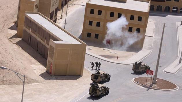 Fotos: EE.UU. entrena a rebeldes sirios en una 'falsa' ciudad en el desierto jordano