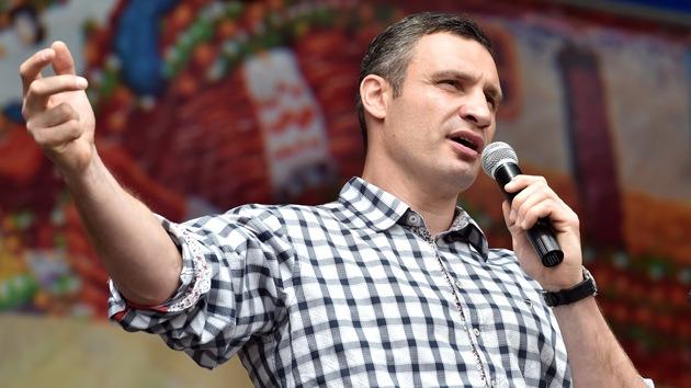 El alcalde de Kiev dona 270.000 dólares para equipar un batallón del Ejército de Ucrania
