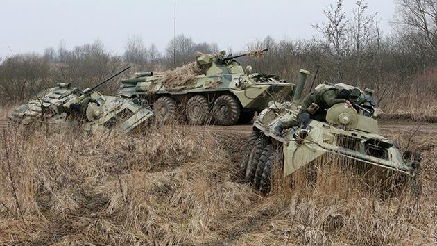 Rusia inicia ejercicios militares en respuesta a la situación en Ucrania
