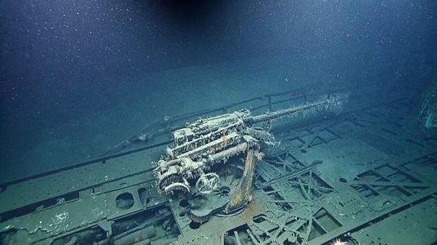 Fotos: 'Retratan' el submarino nazi hundido en el Golfo de México en la II Guerra Mundial
