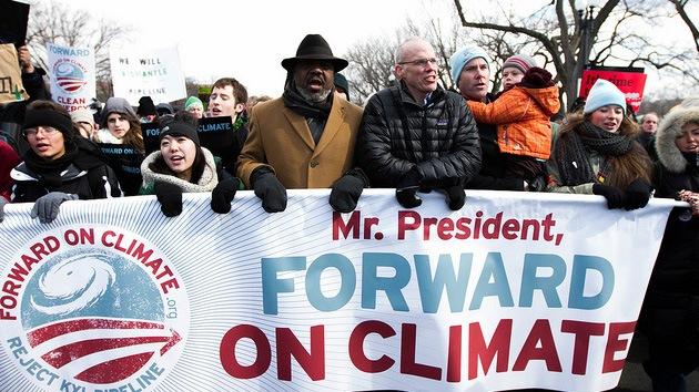 Fotos: La mayor protesta de la historia de EE.UU. por el cambio climático