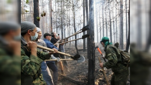 Se nota un retroceso mínimo de incendios forestales