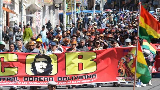 Las protestas en Bolivia no dan tregua