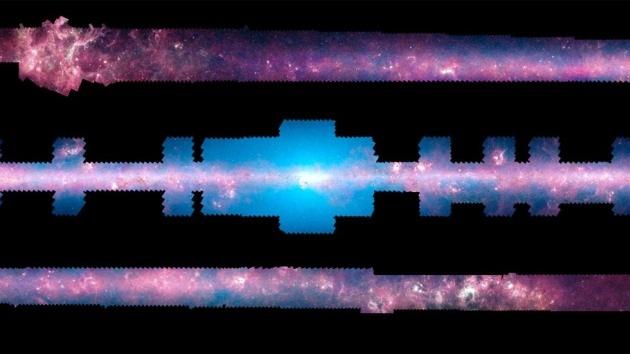 La  NASA permite explorar la Vía Láctea  sin salir de casa