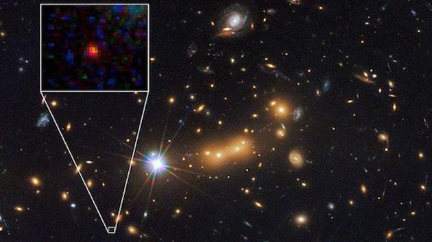 Descubierta la galaxia más lejana de nuestro universo