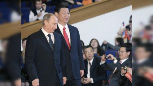 Vladímir Putin se reunió con el vicepresidente de China