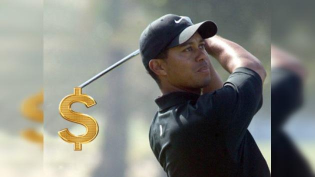 El golfista Tiger Woods sigue siendo el más acaudalado