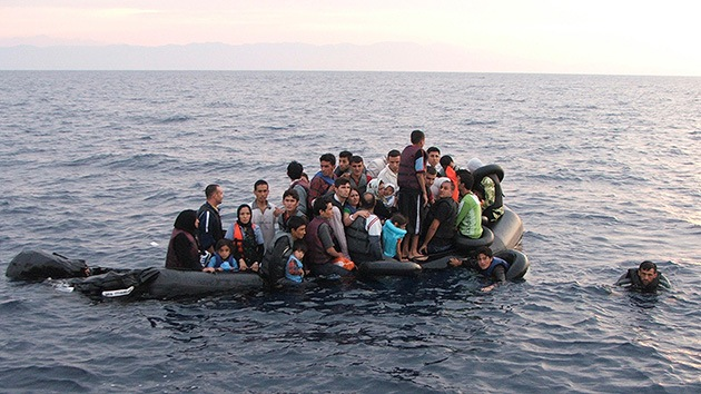 Un naufragio en Grecia deja 14 inmigrantes muertos y 18 desaparecidos