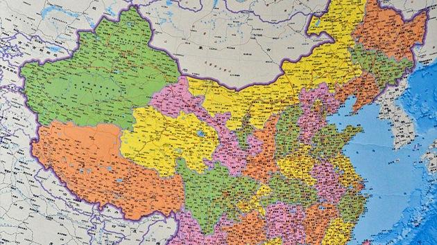 China publica un nuevo mapa de sus fronteras que alerta a sus vecinos