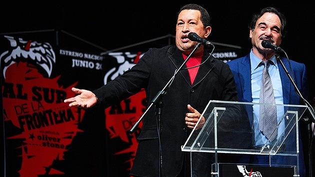 """Oliver Stone: """"Venezuela es el blanco número uno de los medios y del Gobierno de EE.UU."""""""