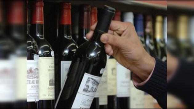 Una pasajera pagó casi 30.000 euros al comprar vino en un aeropuerto