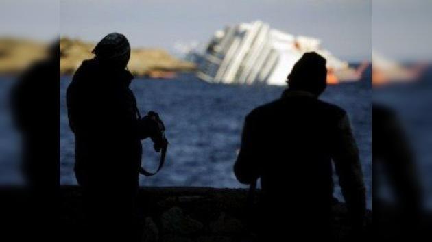 Hallan a otras cinco víctimas mortales en el Costa Concordia