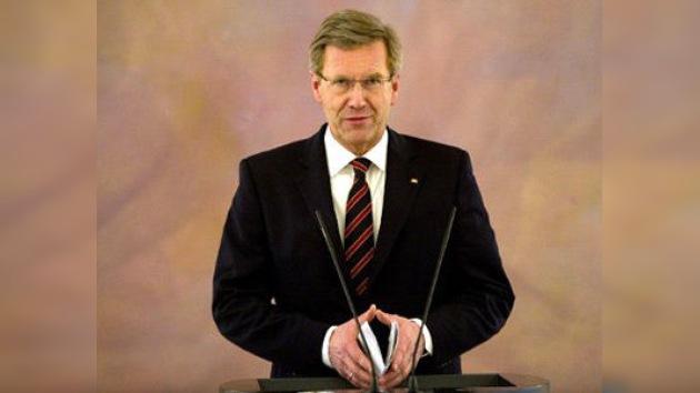 A la luz de una serie de escándalos, dimite el presidente alemán Christian Wulff