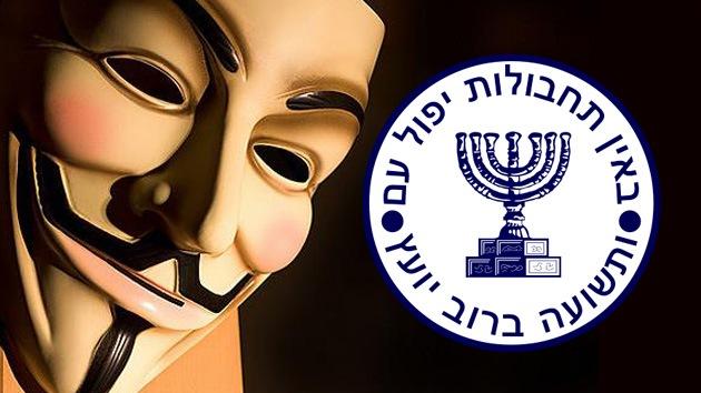 Anonymous difunde datos de miles de empleados del Mossad