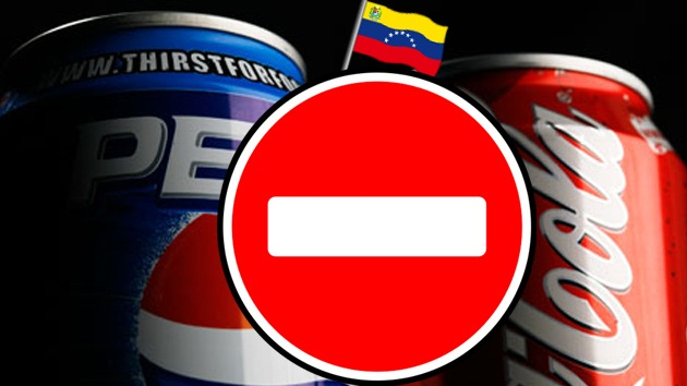 Chávez llama a los venezolanos a no consumir Coca Cola