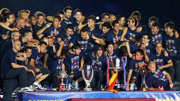 Las redes sociales se rinden ante el FC Barcelona
