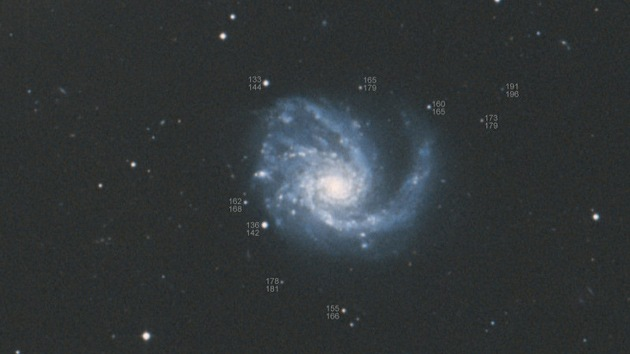 Otro regalo cósmico: una tercera supernova ilumina el cielo