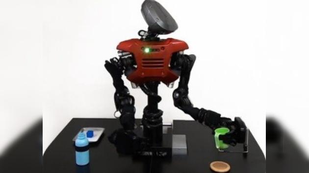 Científicos enseñan a un robot a aprender y tomar decisiones