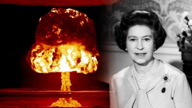 Desclasifican el discurso de la reina británica en caso de guerra nuclear