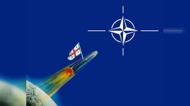 Georgia quiere entrar a la  OTAN en el 2012