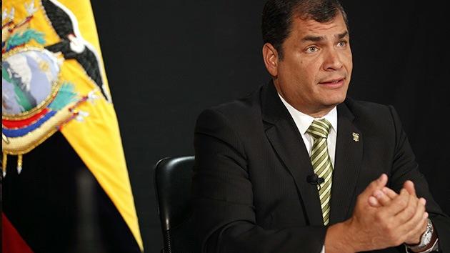 Rafael Correa alerta sobre posibles planes de magnicidio antes de las elecciones