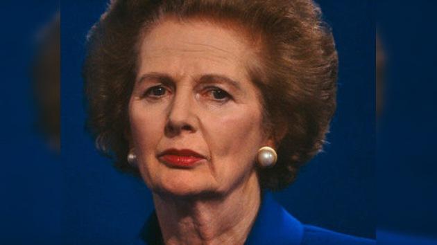 Margaret Thatcher proyecta su propio funeral