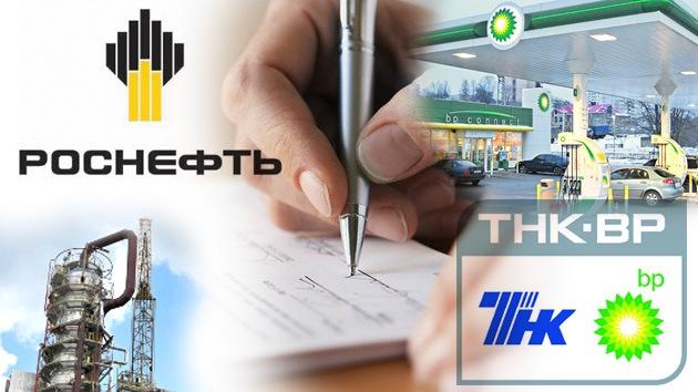 BP le vende a Rosneft el 50% de la petrolera TNK-BP