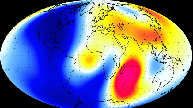 Detectan 'grietas' en el escudo magnético que protege a la Tierra de la radiación solar