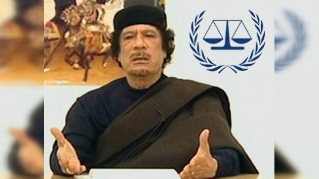 La Corte Penal Internacional procesará a Gaddafi y a otros dirigentes libios