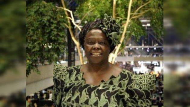 Fallece Wangari Maathai, ganadora del Premio Nobel de la Paz en 2004