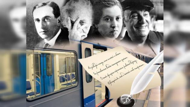 La poesía chilena circulará en el metro de Moscú