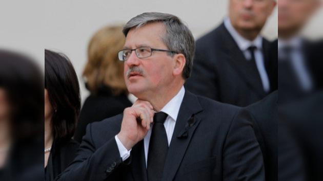 Polonia convocará elecciones el 20 de junio