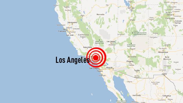 Un sismo sacude la ciudad de Los Ángeles en EE.UU.
