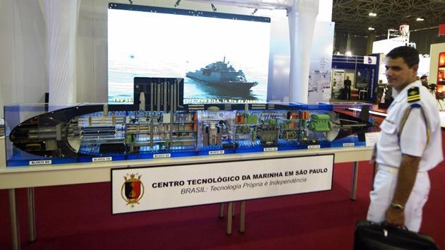 Brasil planea contar con un submarino nuclear para 2021