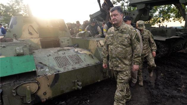 """Poroshenko: """"Vengaremos la muerte de nuestros militares con cientos de vidas de autodefensas"""""""