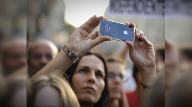 Internet, principal herramienta para hacer correr la voz entre los manifestantes en España