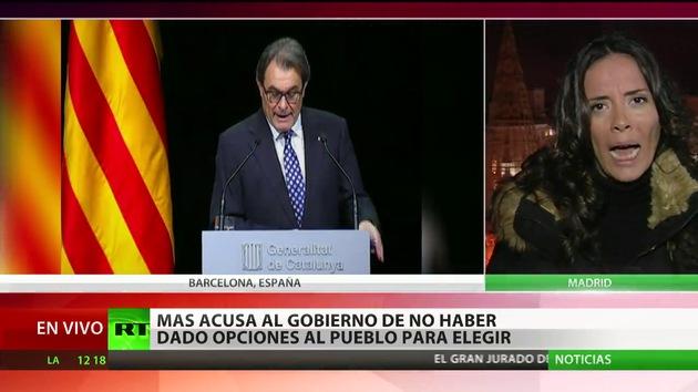 """Artur Mas: """"Avanzaré las elecciones si son para hacer la consulta"""""""