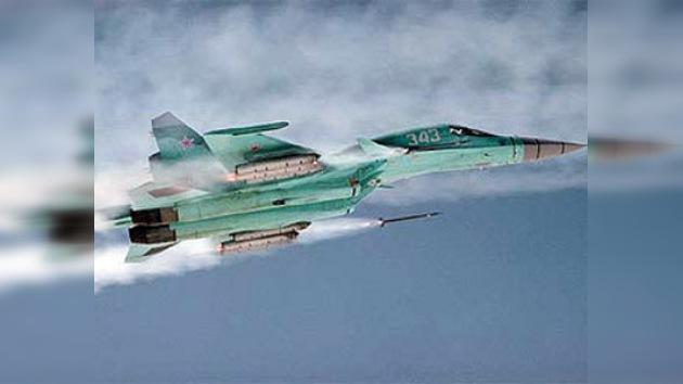 Fuerza Aérea Rusa recibió otros dos cazabombarderos Su-34