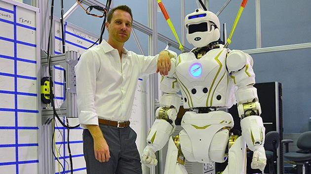 Video: La NASA crea un superhéroe robótico con rasgos humanos y carácter femenino