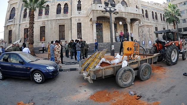 Varios muertos tras una explosión en Damasco