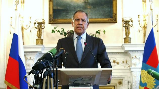 """Lavrov a Kerry: """"Las sanciones de EE.UU. y la UE no quedarán sin respuesta"""""""