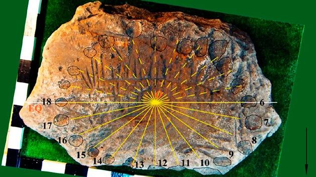 Fotos: Descubren en Ucrania el reloj solar más antiguo del planeta