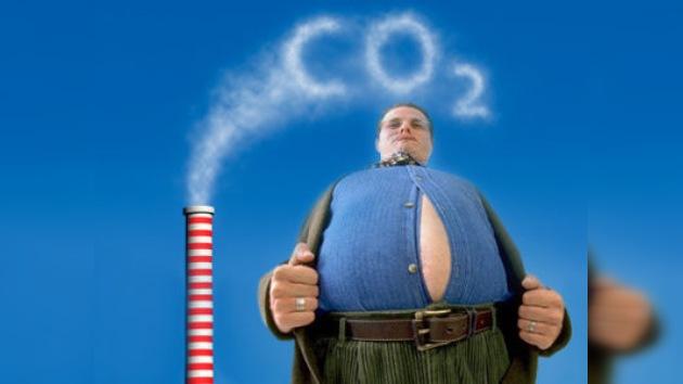 ¡Cuidado con el aire que respira! El CO2 podría engordar