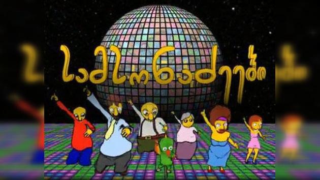 """Georgia lanza una serie de animación imitando a """"Los Simpson"""""""
