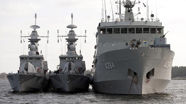 """Suecia rodea Estocolmo con tropas frente a """"una amenaza submarina"""""""