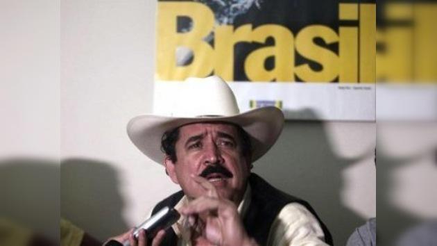Brasil y EEUU coinciden en que Zelaya es el presidente legítimo de Honduras